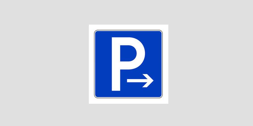 Praxis-Parkplatz